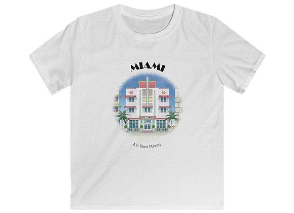 Art Deco Kids Softstyle Tee
