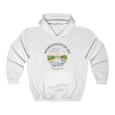 Washington Monument Unisex Hooded Sweatshirt