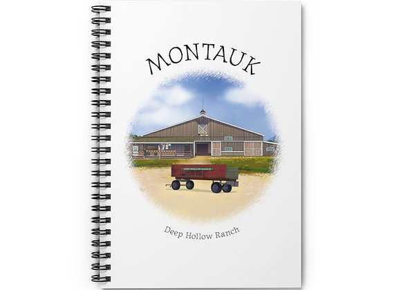 Deep Hollow Ranch Spiral Notebook
