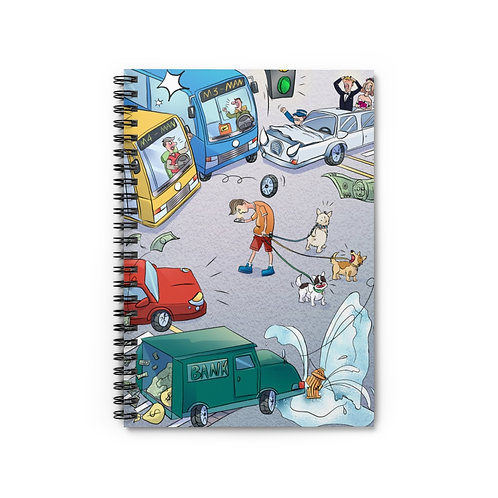 """Notebook - """"Crossing The Street"""""""