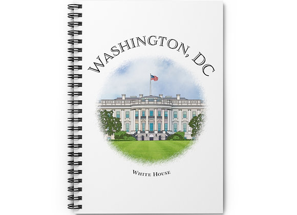 White House Spiral Notebook
