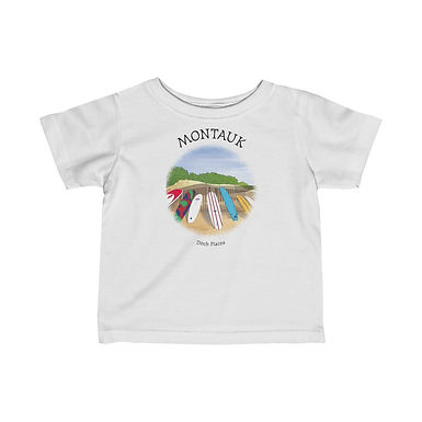 Montauk Ditch Plains Infant Tee