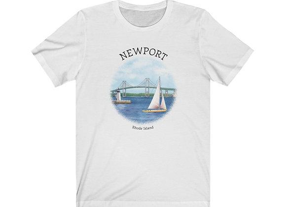 Newport R.I. - Unisex Short Sleeve Tee