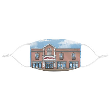 Westhampton Theater Face Mask