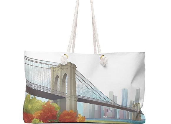 Weekender Bag - Brooklyn Bridge