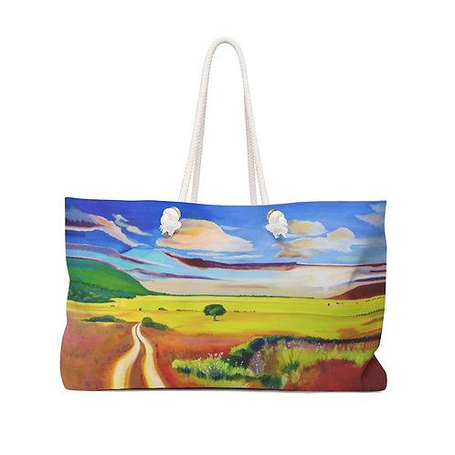 """Weekender Bag - """"The Veldt"""" by Deborah Lennek"""