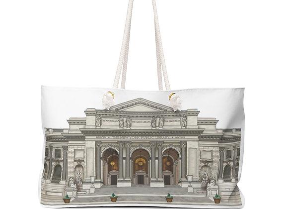 Weekender Bag - NY Public Library