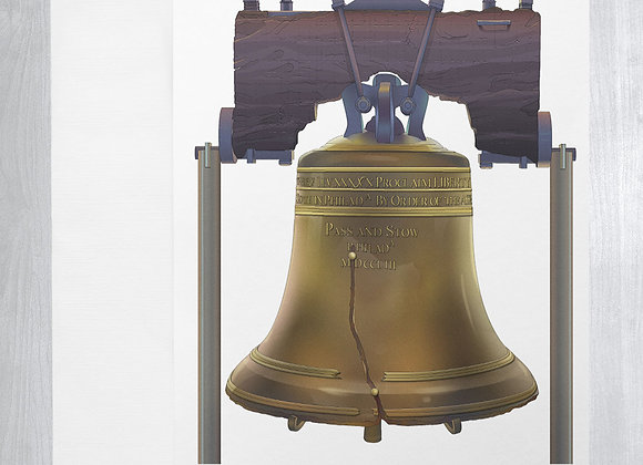 Liberty Bell Notecard