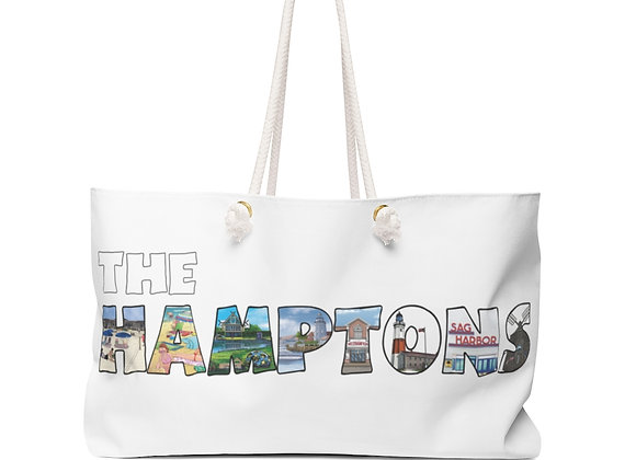 Weekender Bag - 'The HAMPTONS'