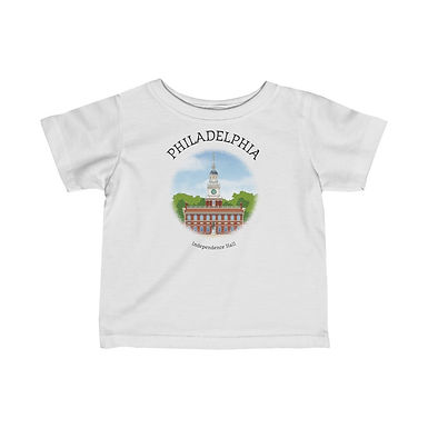 Independence Hall Infant Tee