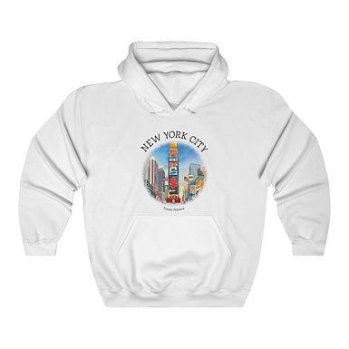 Times Square Unisex Hooded Sweatshirt