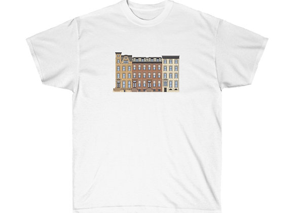 Brooklyn Brownstones - Unisex Cotton Tee