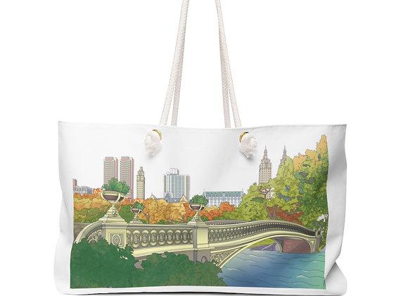 Bow Bridge Weekender Bag