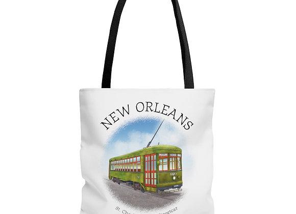 St. Charles Avenue Streetcar Tote Bag