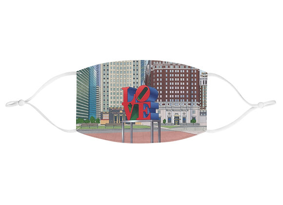 Love Park Fabric Face Mask