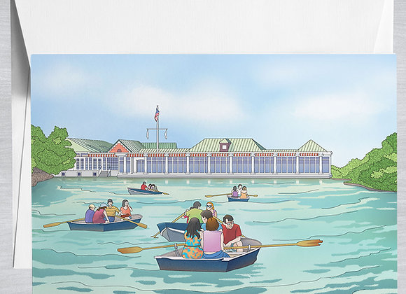 Loeb Boathouse Notecard