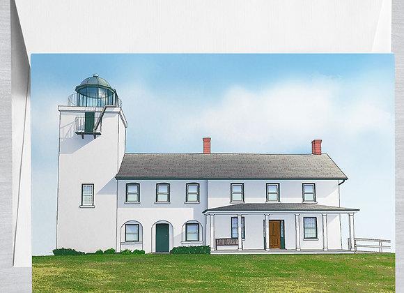 Horton Point Lighthouse Notecard