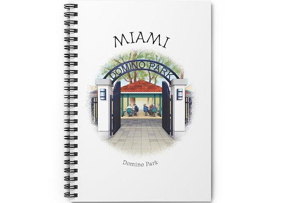 Domino Park Spiral Notebook