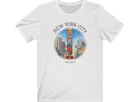 Times Square - Unisex Short Sleeve Tee