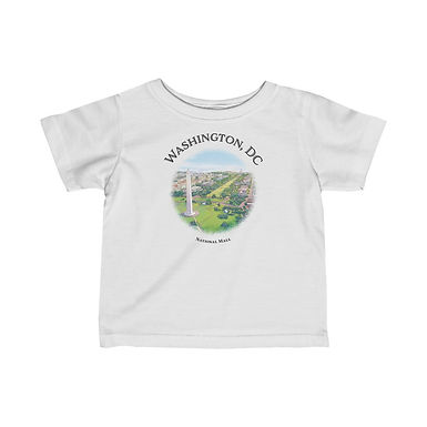 National Mall Infant Tee