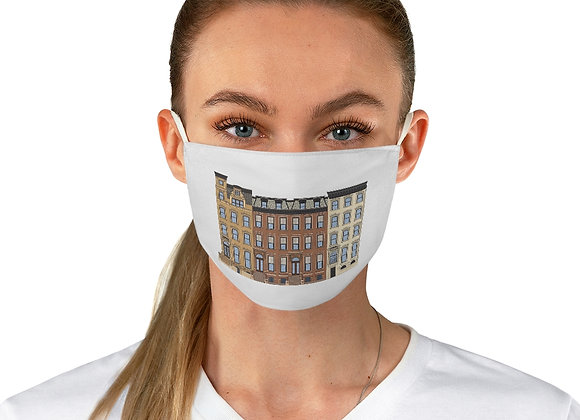 Brooklyn Brownstones Fabric Face Mask