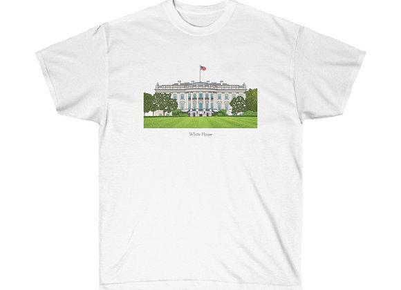 White House - DC Unisex Cotton Tee