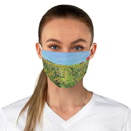 "Face Mask - ""Sunflowers at Pindar"""