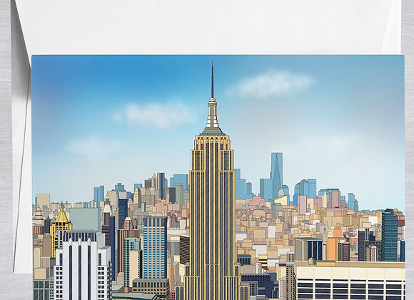 Empire State Building Notecard