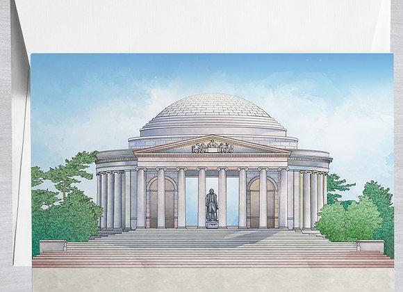 Jefferson Memorial Notecard