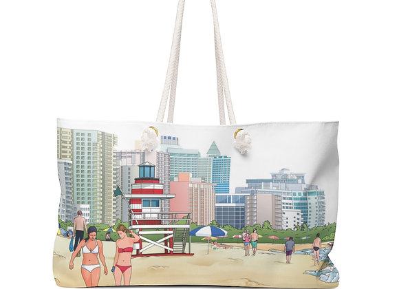 Weekender Bag - Miami Beaches