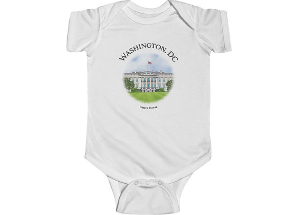 White House - Infant Fine Jersey Bodysuit