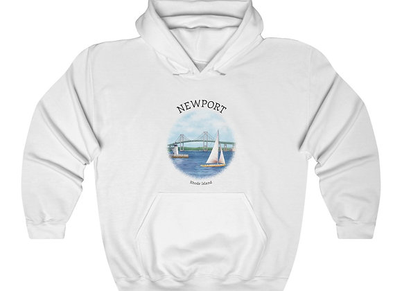 Newport Unisex Hooded Sweatshirt