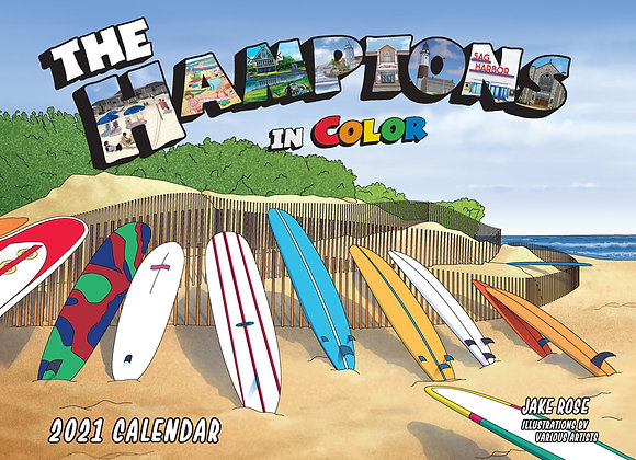 The Hamptons In Color Calendar