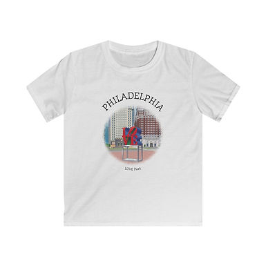 LOVE Park Kids Softstyle Tee