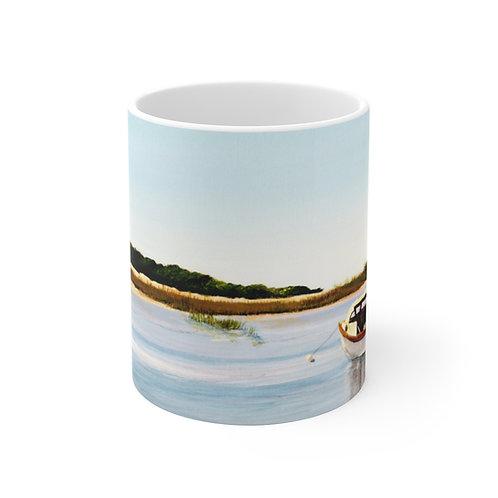 "11oz Mug - ""Gone Fishing"" by Don Wilson"