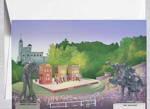 Delacorte Theater Notecard