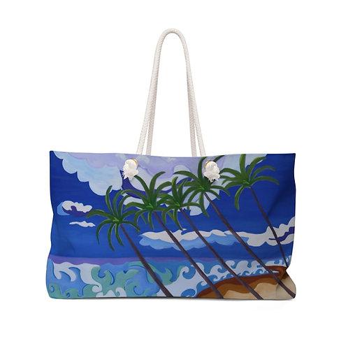 "Weekender Bag - ""Beach Dream"" by Cheryl Kramer"