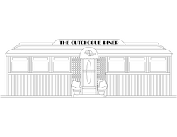 drawing - Cutchogue_Diner
