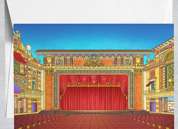 Saenger Theater Notecard