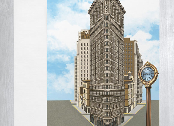 Flatiron Building Notecard