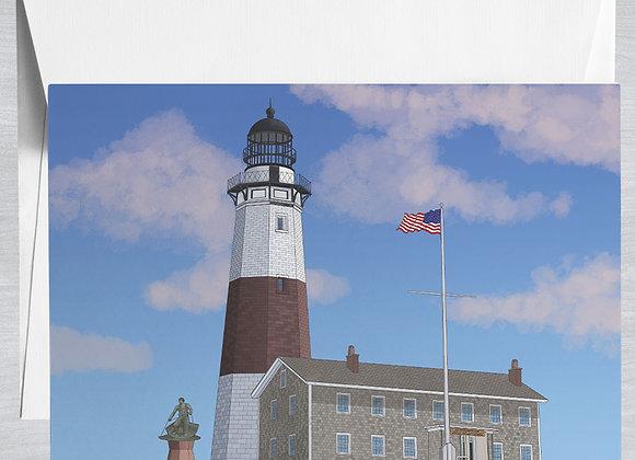 Montauk Point Lighthouse Museum Notecard