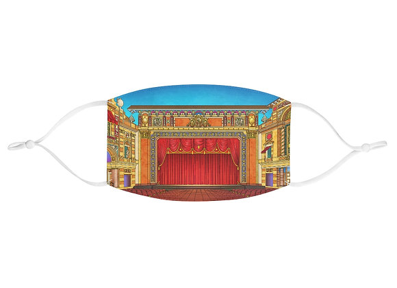 Saenger Theater Fabric Face Mask