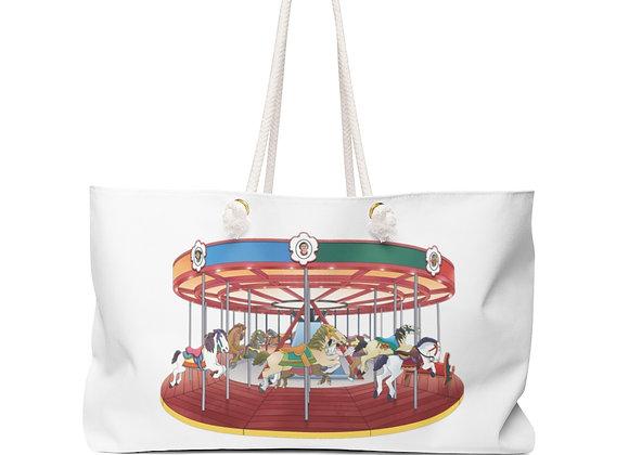 Weekender Bag - Greenport Carousel
