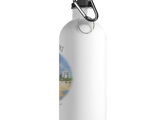 Beaches of Miami Water Bottle