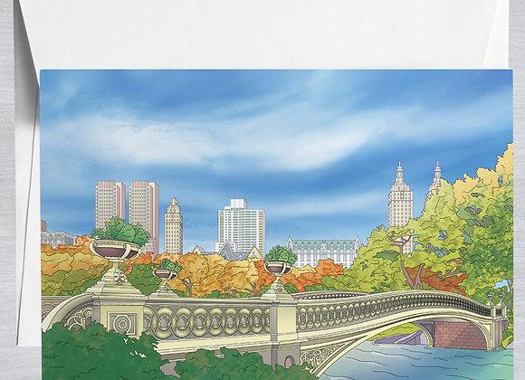 Bow Bridge Notecard
