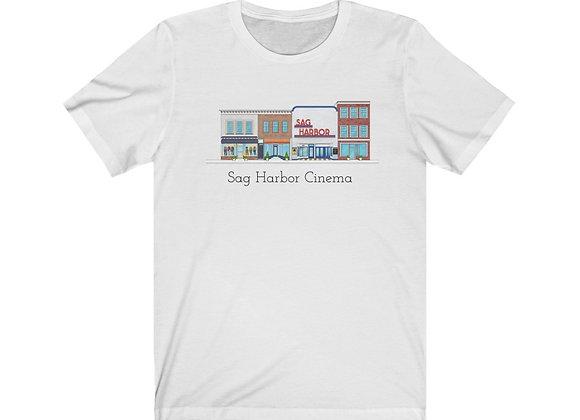 Sag Harbor Cinema - Unisex Short Sleeve Tee