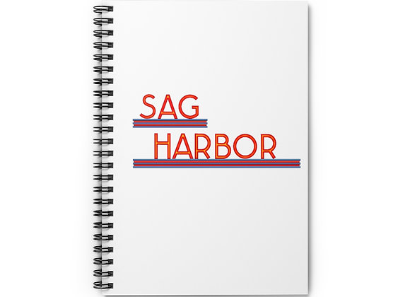 Sag Harbor Cinemas Spiral Notebook