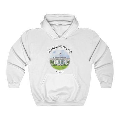 White House Unisex Hooded Sweatshirt