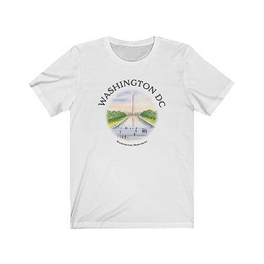 Washington Monument - Unisex Short Sleeve Tee