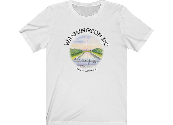Washington Monument - Unisex Short Sleeve Tee
